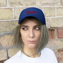 Load image into Gallery viewer, Red DAT Embroidered Baseball Hat