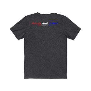 Red, White & Blue Shark Tee