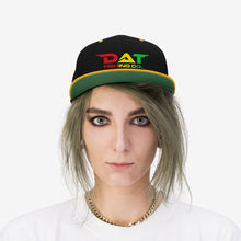 Load image into Gallery viewer, Rasta DAT Embroidered Flat Brim