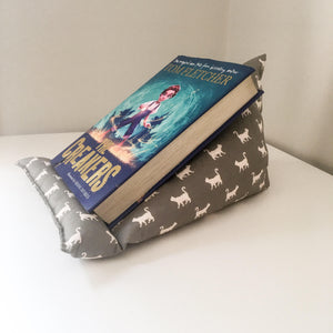 Cat iPad/Book cushion