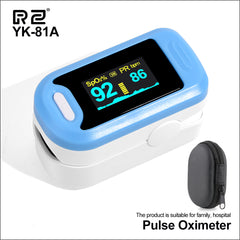 RZ Portable Finger Oximeter fingertip Pulsioximetro Heart Rate Saturometro Household Health Monitors Pulse Oximeter Oximetro - gadgetslines
