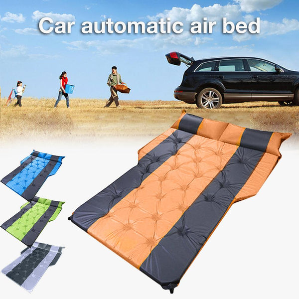 SUV car air bed, car mattress, rear row, car travel mat, off-road air bed, camping mat, air mattress, car accessories - gadgetslines