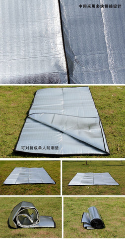 Camping mat, EVA waterproof aluminum foil tent, folding picnic and beach mat, multifunctional, 2020 - gadgetslines