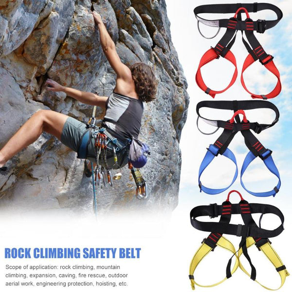 Outdoor sports, climbing, waist harness, support, professional half-body harness, air survival harness, equipment - gadgetslines