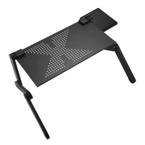 Adjustable Multi Functional Ergonomic mobile laptop table stand for bed Portable sofa folding table foldable notebook Desk - gadgetslines