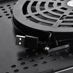 Laptop Table with Large Cooling Fan - gadgetslines