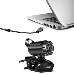 USB Webcam HD Camera Web Cam MIC Clip-on for Computer Laptop Web Camera 360 Degree Usb Camera - gadgetslines