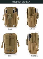 High Quality Tactical Waist Bag, Waist Bag, Camping, Outdoor, Military, Molle, Bag, Wallet, For Safety & Survival, Tool Bag - gadgetslines