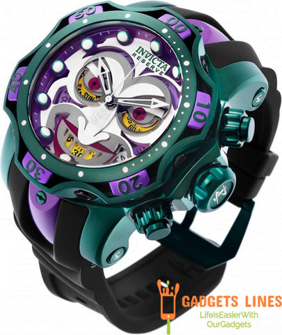 INVICTA DC COMICS LIMITED NUMBERED EDITION JOKER MENS QUARTZ 52.5 MM STAINLESS STEEL - MODEL 26790