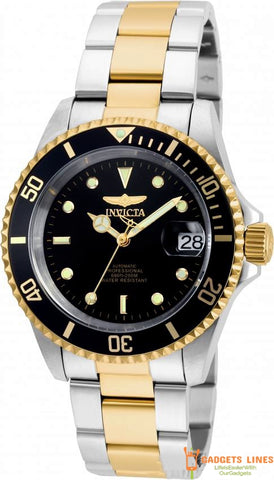 INVICTA Men's Watch Model 8927OB Japan Automatic 40mm Stainless Steel Invincible Rotation - Pro Diver Men