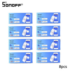 2/3/5/6/8/10/15/20 PCS SONOFF Basic Wifi Switch DIY 10A Wireless Remote Switch Light 220v Wifi Timer Smart Home Google Alexa - gadgetslines