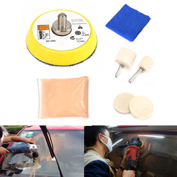 2019 Car Glass Polishing Kit Windscreen Window Scratches Remover Repair Tool CSL88 - gadgetslines
