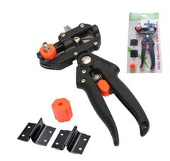 Garden Pruning Tools Pruner Chopper Vaccination Cutting Fruit Tree Garden Grafting Tool with 2 Blade Plant Shears Scissors - gadgetslines
