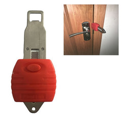 Portable Door Lock Anti-theft lock Travel Lock Childproof Door Lock for Security Home and Hotel - gadgetslines