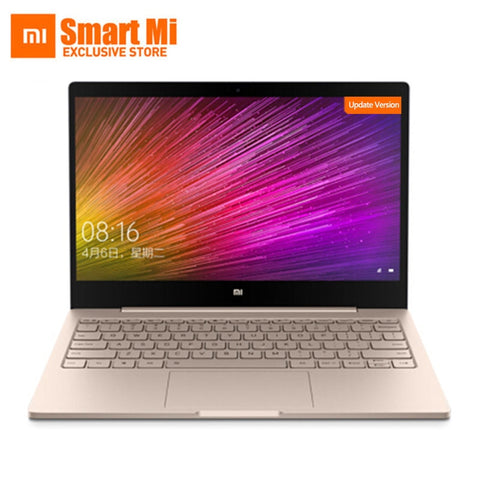 New Xiaomi Laptop Air 12.5 Inch Screen Intel Core m3-8100Y/i5 4GB RAM 128GB ROM Ultra Slim Full Meatal Body English Windows 10 - gadgetslines