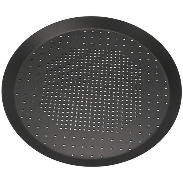 Pizza Baking Pan, Nonstick Pizza Pan With Holes,Steel Round Crispy Crust Pizza Oven Tray Perforated Bakeware Tool Kitchen Cook - gadgetslines