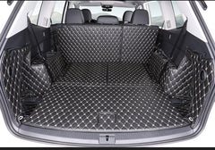 lsrtw2017 leather car trunk mat cargo liner for volkswagen Atlas 2017 2018 2019 2020 Teramont accessory covers styling interior - gadgetslines