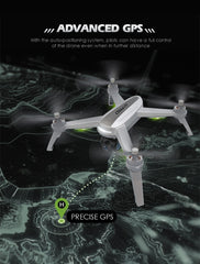 JJRC JJPRO X5 GPS Drone WiFi 2K FPV Brushless RC Drone Professional Quadcopter One Key Return 3 Batteries Quadrocopter With Bag - gadgetslines