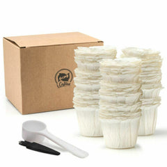Disposable Paper Filters Cups K-Cup 2.0 & 1.0 Fit For Keurig Coffee Machine Refillable Coffee Capsule K Cup Baskets - gadgetslines