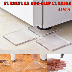 Newly 4 Pcs Washing Machine Refrigerator Chair Cushion Shock Proof Pad Furnitures Anti Slip Pad XSD88 - gadgetslines