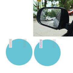 2PCS Car Rearview Mirror Protective Film Anti Fog Window Clear Rainproof Rear View Mirror Protective Soft Film Car Accessories - gadgetslines