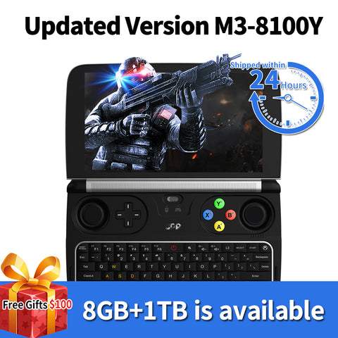 GPD WIN 2 WIN2 Intel m3-8100y Quad core 6 Inch GamePad Tablet Windows 10 8GB RAM 256GB ROM Pocket Mini PC Laptop Game Player - gadgetslines