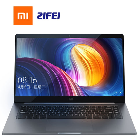 Xiaomi Laptop Pro 15.6′′ GTX 1050 Max-Q intel i7/i5 cpu 256G SSD 16g/8gb ram Light and Thin Notebook Computer all-metal fuselage -