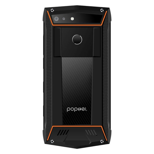2020 New version Poptel P60 rugged smartphone with PTT 6+128G RAM wireless charging FaceID 5000mah battery NFC 16MP dual camera - gadgetslines