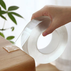 Transparent Magic Nano Tape Washable Reusable Double-Sided Tape Adhesive Nano-No Trace Paste Removable Glue Cleanable Household - gadgetslines