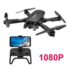 R8 Radio Controlled Drone 4K Optical Flow Positioning GPS FPV Camera HD Brushless RC Helicopter Quadrocopter Drone Camera Toys - gadgetslines