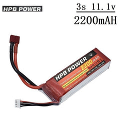 High Power11.1V 2200mAh 35C Battery for RC Car Airplanes Spare Parts 3s lipo Battery for RC Quadrocopter 11.1V Battery HPB - gadgetslines