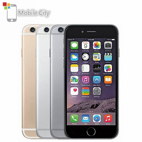 Apple iPhone 6 IOS 4G LTE Unlocked Mobile Phone Dual Core 4.7' IPS 1GB RAM 16/64/128GB ROM Fingerprint Used SmartPhone - gadgetslines