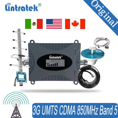 Signal Booster for Cell Phone 850MHz Wireless Cellular Repeater 3G Mobile Phone Repeater Signal Booster amplifier 4 - gadgetslines