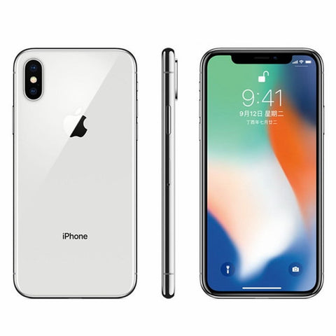 "iPhone X Face ID High Quality Display Unlocked  5.8"" 3GB RAM 64GB/256GB ROM iOS A11 Hexa IphoneX Smartphone Mobile Phone 4G LTE"