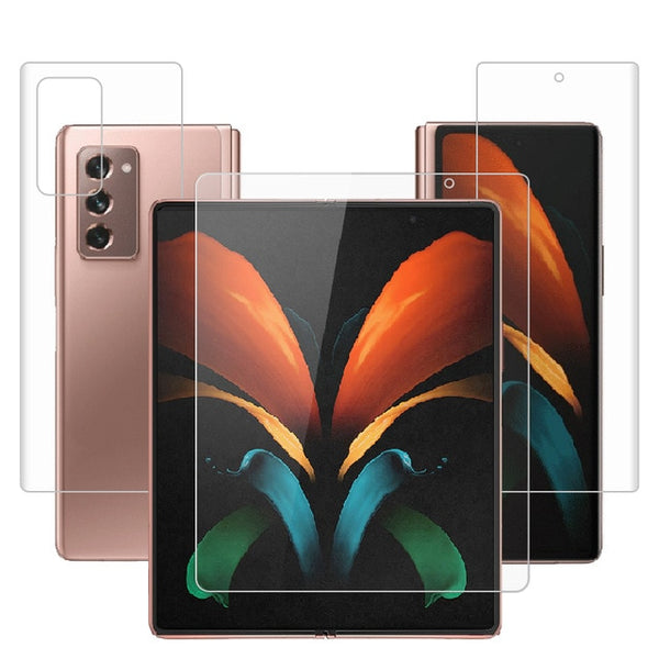 "For Samsung Galaxy Z Fold2 5G 7.6"" Clear TPU / Matte Anti-Fingerprints Hydrogel Full Cover Soft Screen Protector Film Not Glass"
