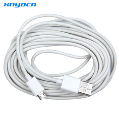 Xnyocn New Cable 5M Micro USB Charging Data Cable Adapter for Samsung Phone White For LG xiaomi - gadgetslines