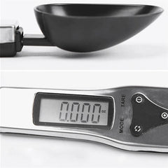300g/0.1g Portable LCD Digital Kitchen Scale Measuring Spoon Gram Electronic Spoon Weight Volumn Food Scale New High Quality - gadgetslines