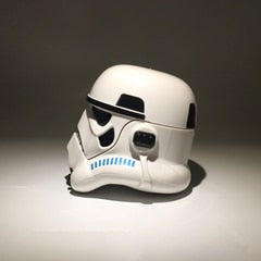 Star Wars Helmet Decoration Car Ornaments Interior Dashboard Decoration Birthday Gift Birthday Gift Desk Ornaments Storage Box - gadgetslines