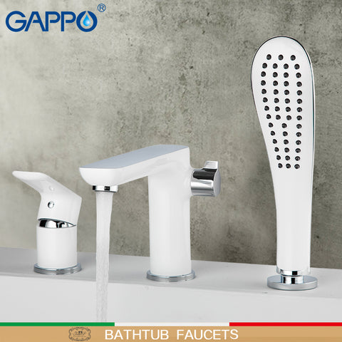 GAPPO bathtub faucets bathroom shower faucet bath faucet bathtub wall mounted bath mixer waterfall faucet basin sink mixer tap - gadgetslines