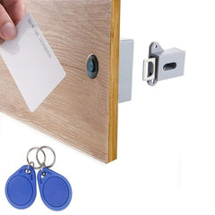 Invisible Hidden RFID Free Opening Intelligent Sensor Cabinet Lock Locker Wardrobe Shoe Cabinet Drawer Door Lock Electronic Da - gadgetslines
