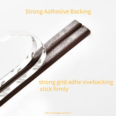 10M Type DIEP Self Adhesive Door Sealing Strips Self Adhesive Window Foam Wind Waterproof Dustproof Sound Insulation Tools - gadgetslines