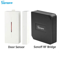 Sonoff RF Bridge 433MHZ Wifi Wireless  PIR Sensor Door & Window Alarm Sensor for Smart Home Security Alexa Google Home - gadgetslines