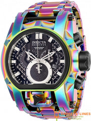 Invicta Men's Watch Model NO.25209 - 52mm Swiss Quartz Reserve Bolt Zeus Men Stainless Steel Wristwatch