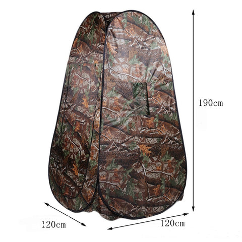 Tent for a shower with a bag for carrying, for a beach, fishing, a camping, a toilet - gadgetslines