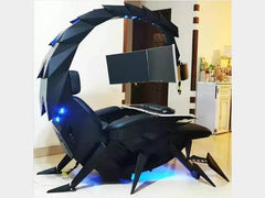 Cluvens chair workstation automatic Scorpion PC chair - gadgetslines