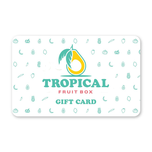 Tropical Fruit Box Gift Card Tropical Fruit Box Gift Card