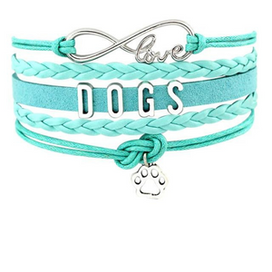 Infinity Love Dog Mom Bracelet