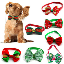 Load image into Gallery viewer, Christmas Bow Tie
