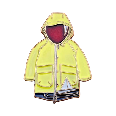 Georgie Jacket Float, Gold Variant Pin