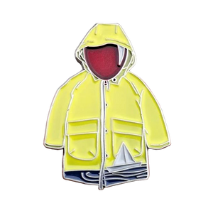 Georgie Jacket Float, Silver Variant Pin